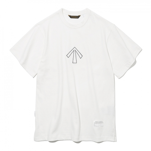 19ss broad arrow s/s tee off white
