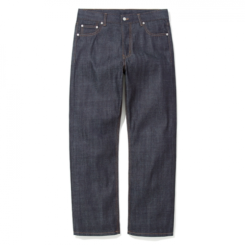 18fw comfort raw denim pants indigo