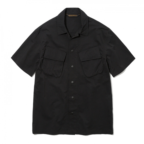 19ss jungle fatigue shirts black