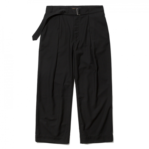 19ss wide strap slacks black