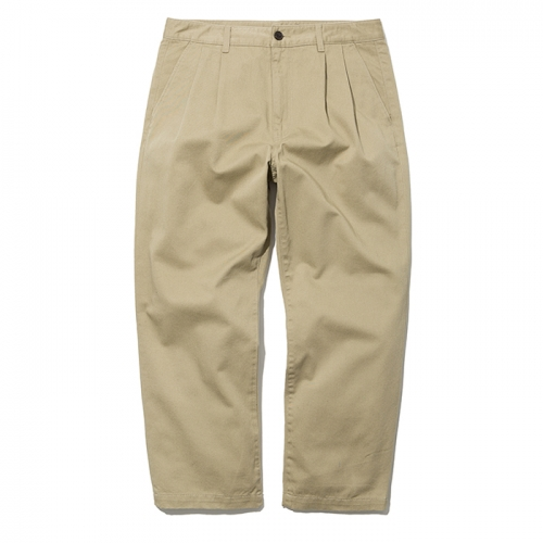 19ss crop chino pants beige