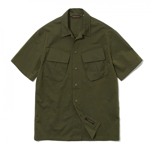 19ss jungle fatigue shirts khaki