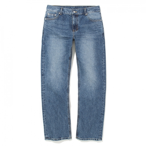 18fw washing denim pants indigo