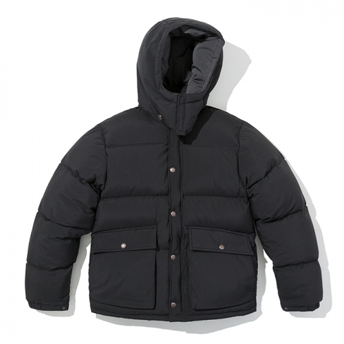 18fw mountain down parka black
