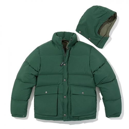 18fw mountain down parka green