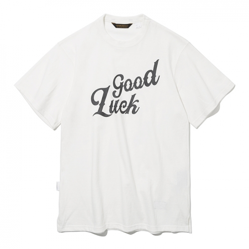 19ss good luck s/s tee off white