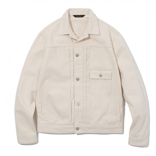19ss trucker jacket natural
