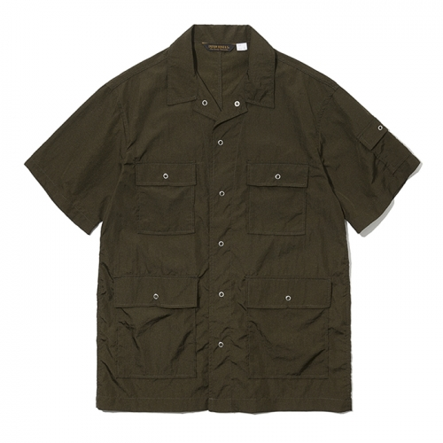 19ss 5pocket short shirts olive