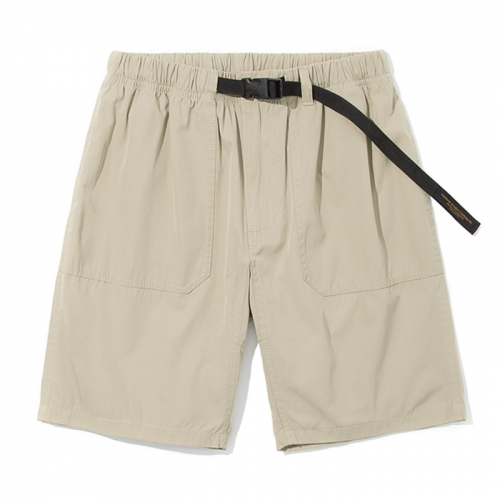 strap easy shorts beige